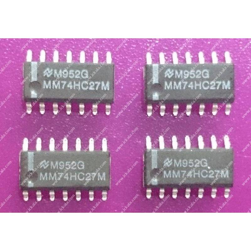 MM74HC27M