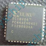 XC18V04PC44C