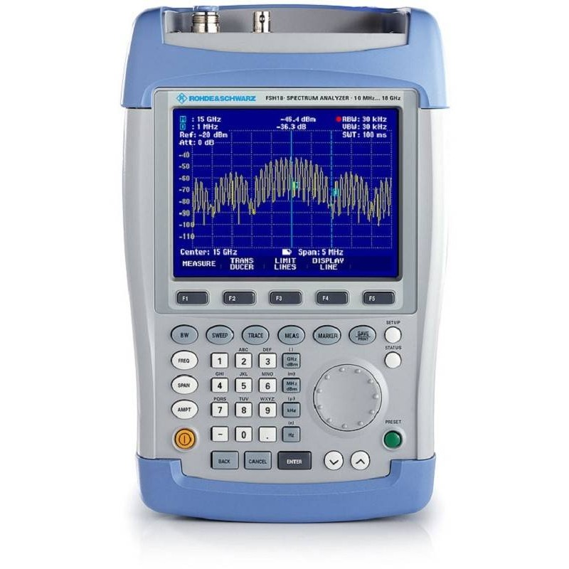 R&S FSH6 Spectrum Analyzer - NO Tracking