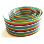 کابل فلت رنگی 50 رشته