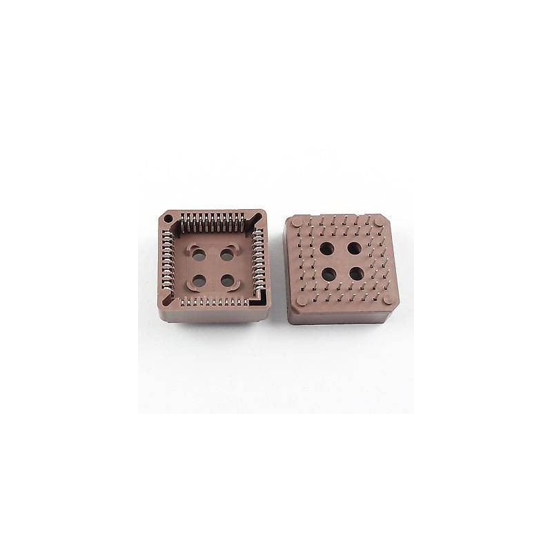 PLCC44-SOCKET-brown