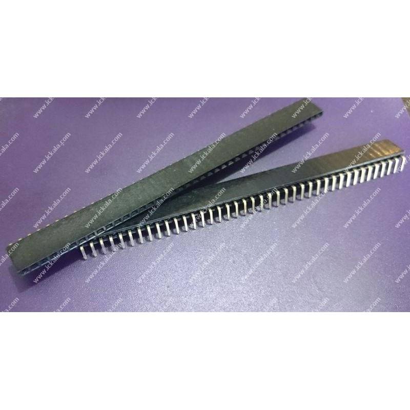 Pin header - feMale-1x40-right