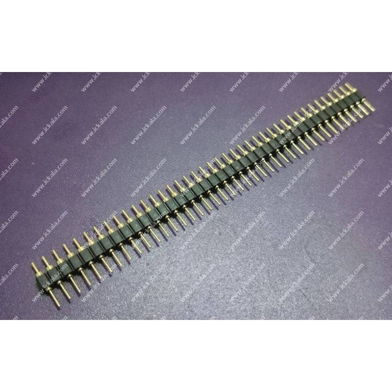 Pin header - male-mil-1x40