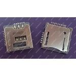 Micro SD+Sim Card سوکت کوچک
