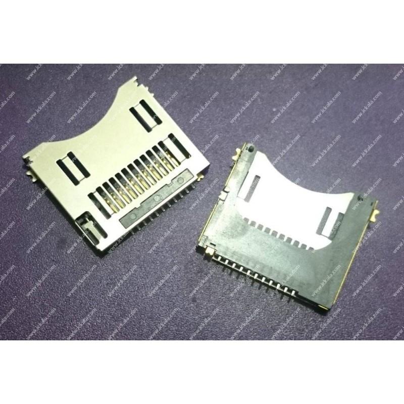 سوکت فشاری Mini SD