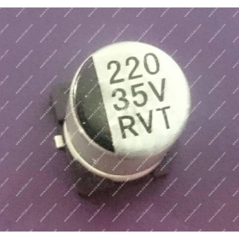 C220uF35VES-6x5mm