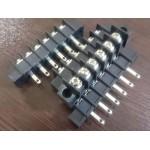 ترمینال پیچی DG45 - مشکی - 6 پایه - صاف