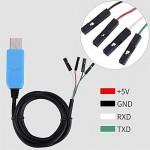 ماژول مبدل USB به TTL با تراشه PL2303TA برای windows10