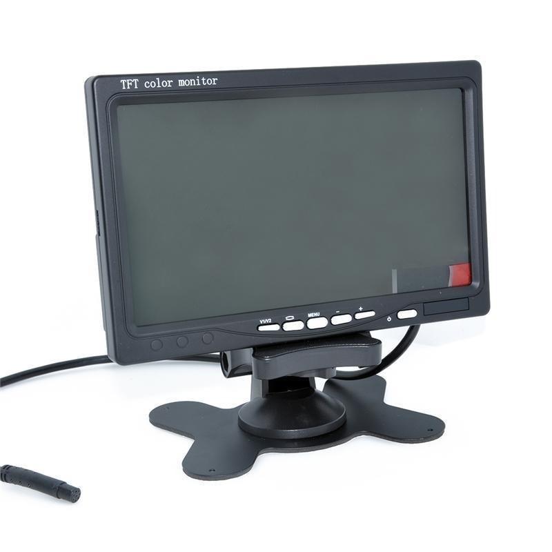 نمایشگر 7 اینچ دارای ورودی VGA+AV+HDMI