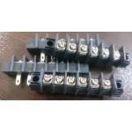 ترمینال پیچی DG65 - مشکی - 6 پایه - صاف
