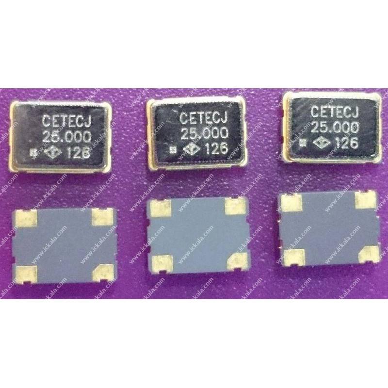 SMD-Oscillator 25.00MHz