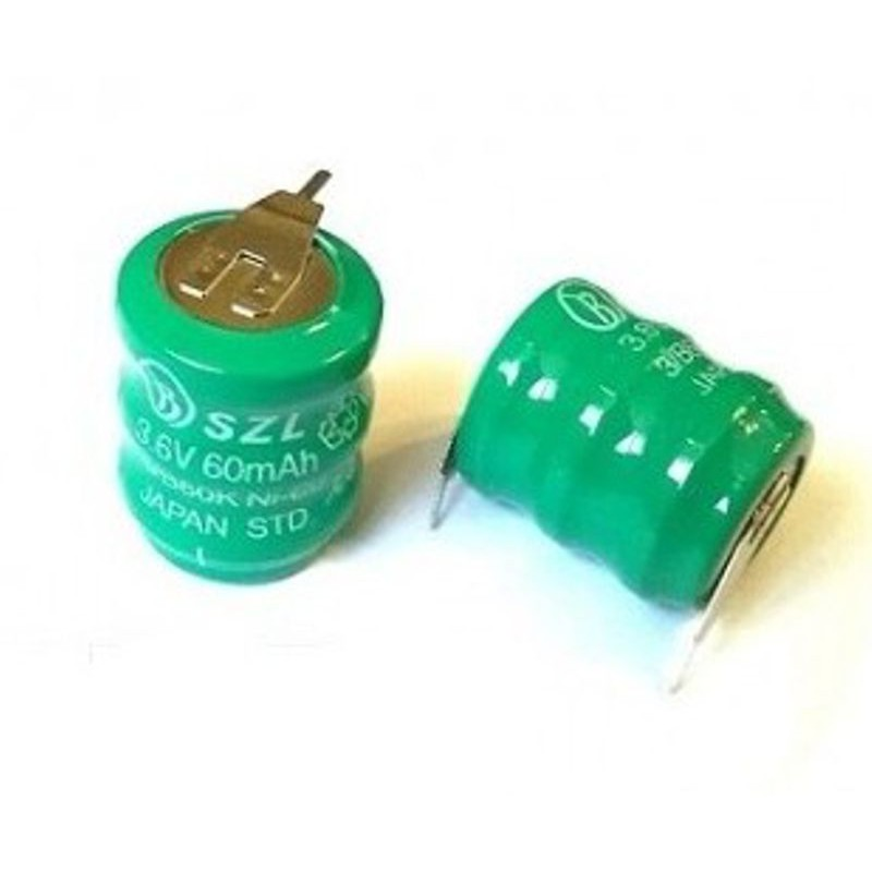 Rechargeable Battery PCB NI-MH 3,6v 60mAh
