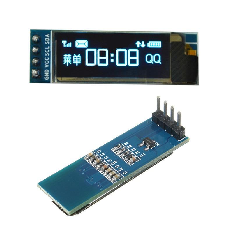 SSD1306128x32OLEDBlue