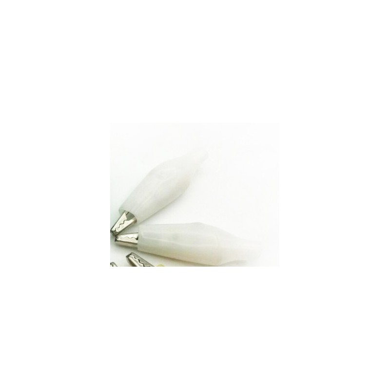 گیره سوسماری کوچک سفید