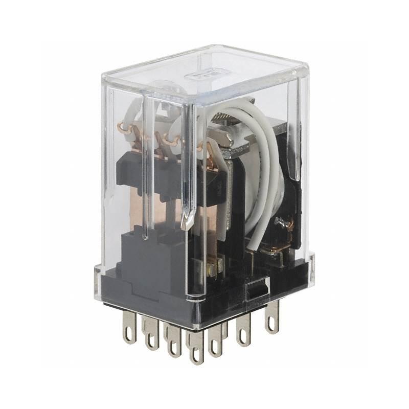 رله 12 ولت 4 کنتاکت پایه لحیمی HC4-DC12V