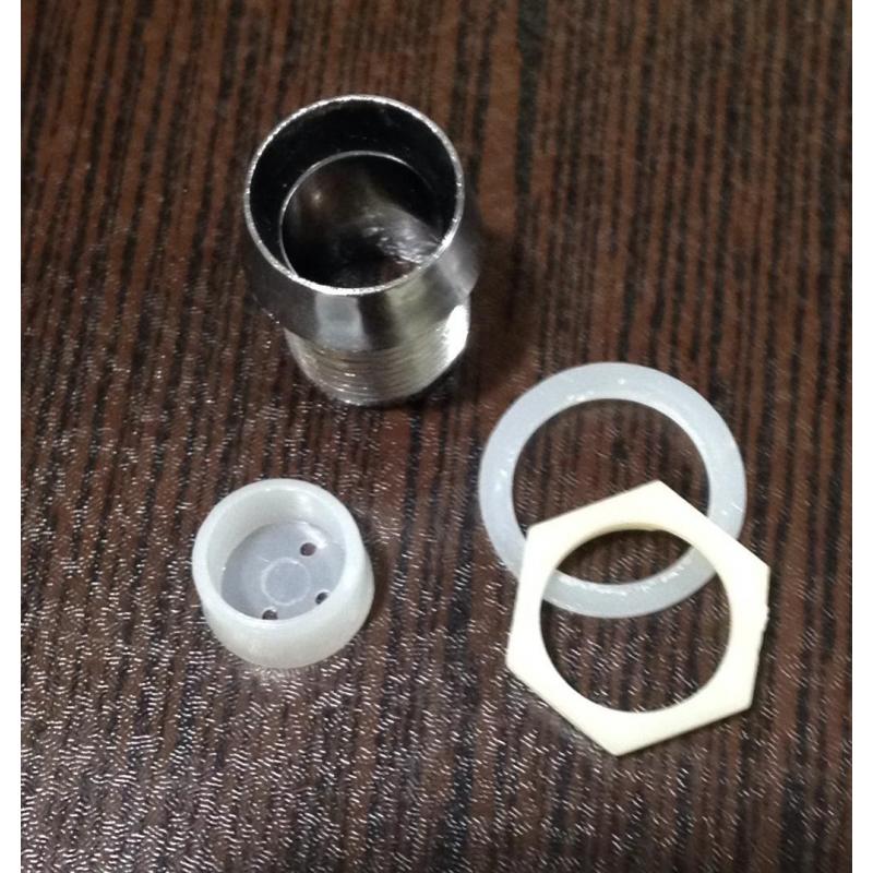 قاب LED10mm پلاستیکی