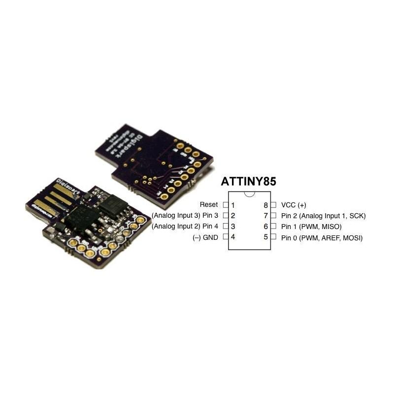 ARDUINO ATTINY85 PCB USB