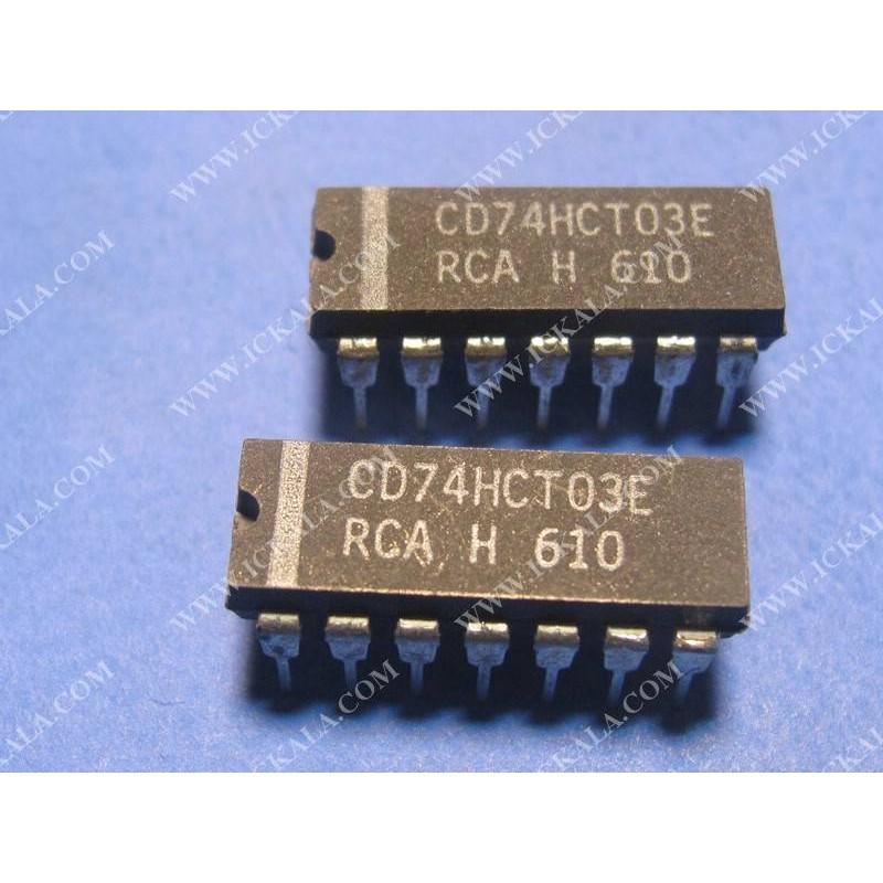 CD74HCT03E