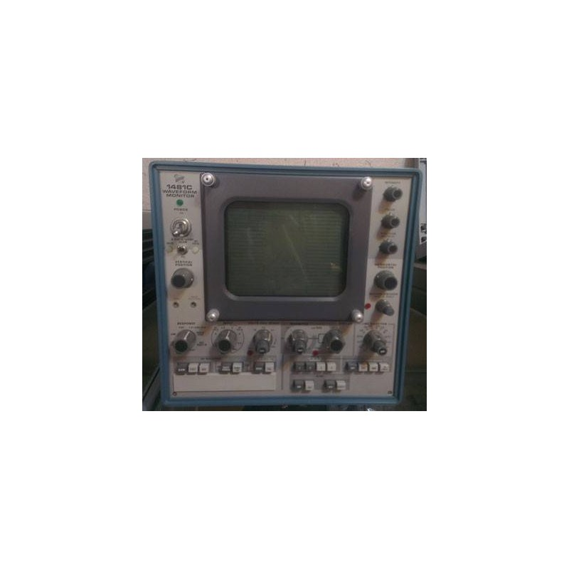 TEKTRONIX 1481C WAVE FORM MONITOR