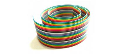 کابل فلت رنگی