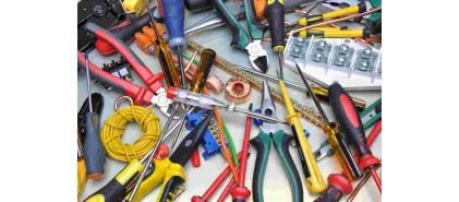 ابزار آلات دستی (سیم چین، کف چین، دم باریک و ...)