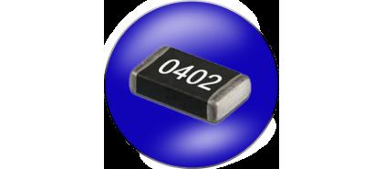 مقاومت SMD سایز 0402 خطا 1%
