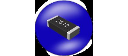 مقاومت SMD سایز 2512 خطا 1%