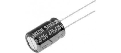 خازن های الکترولیتی 25 ولتی