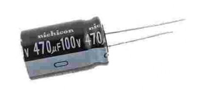 خازن های الکترولیتی 100 ولتی