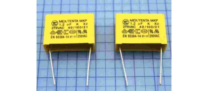 خازن MKT با ولتاژ 275 ولت